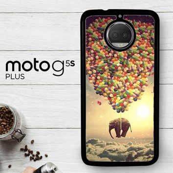 Elephant And Balloon V1482  Motorola Moto G5S Plus Case