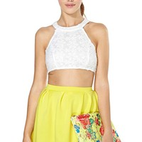 Scuba Skater Skirt - Yellow