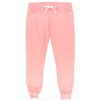 Guess Womens Heatherd Flat Front Jogger Pants