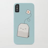 Tea time iPhone Case by kimvervuurt