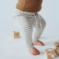 Quincy Mae: Striped Jogger
