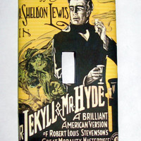 Light Switch Cover - Light Switch Plate Dr Jekyll & Mr Hyde