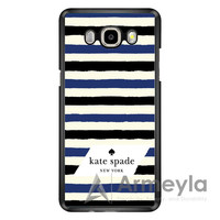 Kate Spade In Stripes Samsung Galaxy J3 Case | armeyla.com