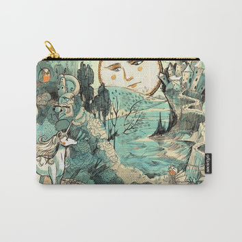 Last Unicorn Journey Carry-All Pouch by Christina Siravo