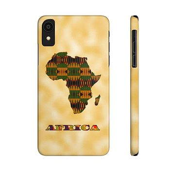 Kente Print Case Mate Slim Phone Cases