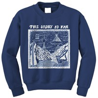 Album Navy Crewneck : PNE0 : MerchNOW - Your Favorite Band Merch, Music and More