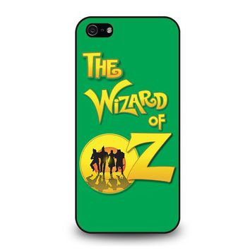 the wizard of oz 2 iphone 5 5s se case cover  number 1