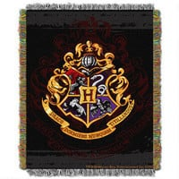 Harry Potter Exclusive Hogwarts Crest Tapestry Throw |