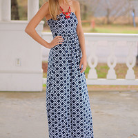 Timeless Tube Maxi, Navy