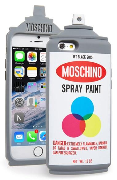 moschino spray paint can iphone 6 case from nordstrom