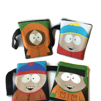 Stan South Park Bag Upcycled T-shirt Clutch