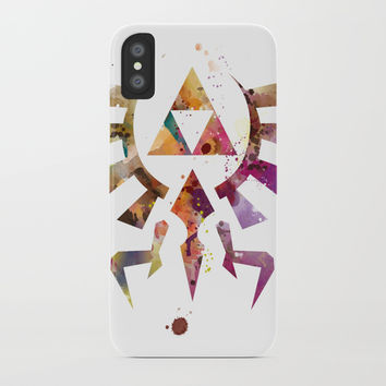 Zelda iPhone Case by monnprint