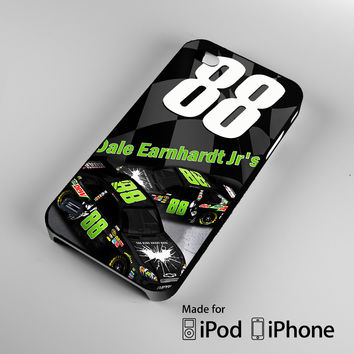 Dale Earnhardt Jr's 88 Nascar Sonoma iPhone 4S 5S 5C 6 6Plus, iPod 4 5, LG G2 G3, Sony Z2 Case