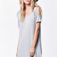 H.I.P. Crepe Cold Shoulder Dress - Womens Dress