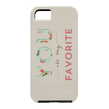Allyson Johnson Floral You Are My Favorite Cell Phone Case