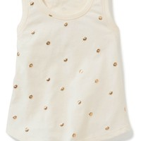 Printed Jersey Tank for Toddler Girls | Old Navy