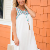 Mexico Dreams Dress, Ivory