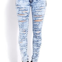 Daring Destroyed Skinny Jeans