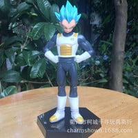 15cm Dragon Ball Z Vegeta Action Figure PVC Collection figures toys for christmas gift brinquedos Free shipping