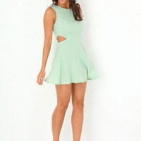 Missguided - Karrah Cut Out Skater Dress