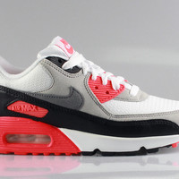 Nike Women's Air Max 90 Premium OG White Infrared