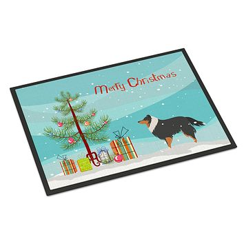 Sheltie/Shetland Sheepdog Christmas Indoor or Outdoor Mat 24x36 BB2948JMAT