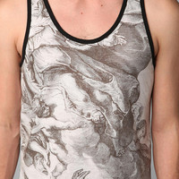 Altru Allover Heaven Vs Hell Tank Top