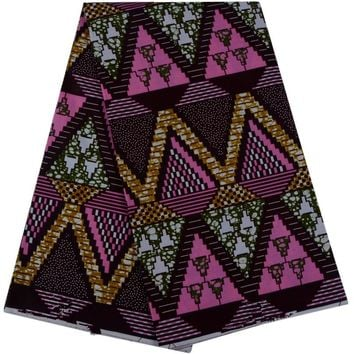 2018  African Print Material Ankara African Wax Print Fabric For Dresses