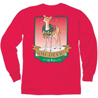 Lily Grace Long Sleeve Tee- Oh Deer