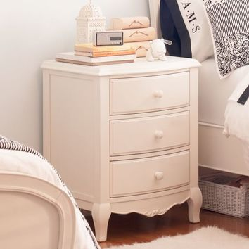 Lilac Bedside Table