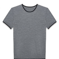 THEORY Balance Tee in a Machine Washable Merino Blend