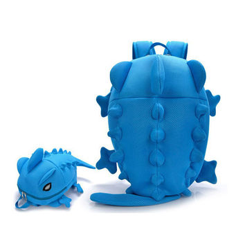 Designer Women Backpacks Dinosaur monster backpack Cartoon Animal Shoulder School Bag For Teenagers Girls Boys Chameleon Lizard