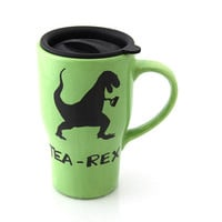 travel mug tea-rex