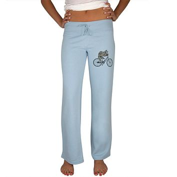 Bicycle Sloth Womens Sweatpants