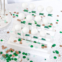 Cake Pop / Cupcake Stand - Party Decorations Serving - Cupcake, Cake Pops, Mini Pies, Solid Color FInish