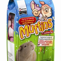 Supreme Gerty Muffins Cranberry/Blueberry Guinea Pig Treats 3.5 oz