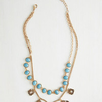 Boho Timeless Treasure Necklace by ModCloth