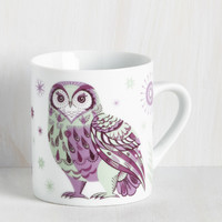 Force of Habitat Mug in Owl | Mod Retro Vintage Kitchen | ModCloth.com