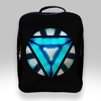 Backpack for Student - Iron Man Arc Reactor Bags