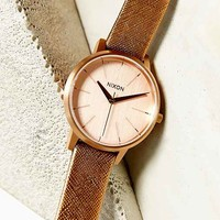 Nixon Kensington Leather Watch-