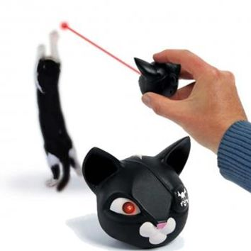 Space Pirate Laser Cat Toy