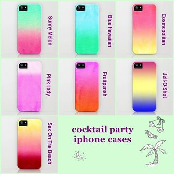 ***Cocktail Party *** PARTY FUN CASES  by Monika Strigel