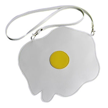 Fried Egg Shape Shoulder Bag