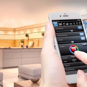BUILDING AUTOMATION SYSTEM INTERFACE SMART HOME | JUNG