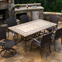 Tortuga Outdoor Marquesas 7 pc Dining Set