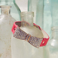 Nightingale Cuff Bracelet in Watermelon