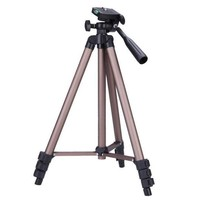 ICIK7Q Weifeng WT3130 Protable Lightweight Aluminum Camera Tripod with Rocker Arm Carry Bag for Canon Nikon Sony DSLR Camera Camcorder