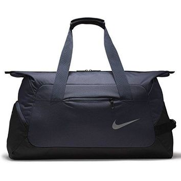 Nike Court Tech Duffle Duffel Bag (Thunder Blue/Black)