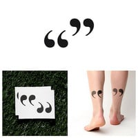 Quota - Temporary Tattoo (Set of 2)
