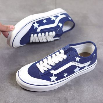"""""""Vans Style 36 Decon SF"""" Unisex Casual Fashion Five-pointed Star Skateboard Plate Shoes Couple Sneakers"""